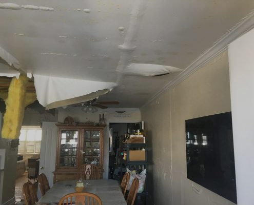 Water Damaged Ceiling Long Island NY